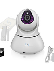 Snov Wifi IP IR PTZ Surveillance Camera with door sensor and 32GB TF card, HD Baby Monitor, P2P, Android APP & iOS