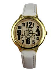 Women's Angel Style PU Band Quartz Analog Wrist Watch (Assorted Colors)