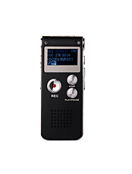 8GB 609 Digital Recording Professional Audio Voice Recorder Dictaphone External Mic 650Hr MP3 Player USB Digital Audio