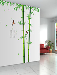 наклейки стены стиль наклейки бамбуковый лес глубины наклейки ПВХ стены