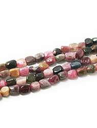 "Beadia Tourmaline Stone Beads 5-8mm Irregular Shape DIY Loose Beads For Making Necklace Bracelet 15""/Str(apx.65pcs)"