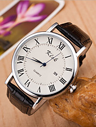 Women's Round Dial Case Leather Watch Brand Fashion Quartz Watch(More Color Available) Cool Watches Unique Watches