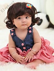 Big Elephant New 1pcs Baby Girl Clothes Mini Skirt Dress Cute Outfits sets for 0-3years A99