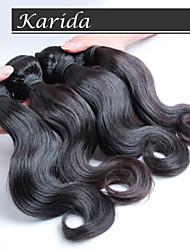 10-30inch 4 piezas onda del cuerpo del pelo malasio, pelo virginal malasio 100%