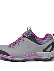 4X4 Wheel Drive Waterproof Outdoor Hiking Women's Shoes Leather Purple