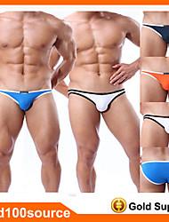 nouveau bikini de sports sous-vêtements pour hommes mémoires de mode de maillots de bain sexy 4 couleurs taille SML