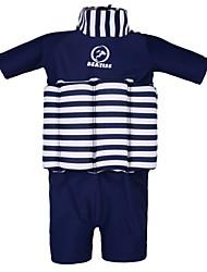 Tops de Natação/Bottoms Swimwear ( Vermelho/Azul Escuro ) - Crianças -Respirável/Alta Respirabilidade (>15,001g)/Resistente Raios