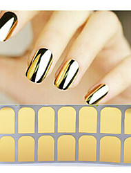 Metallic Full Nail Sticker(Assorted Colors)