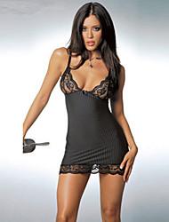 Femme Polyester Vêtements de nuit Tee de nuit