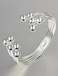 Plateado 2.015 nuevos productos fiesta / trabajo / plata ocasional pulsera joyería elegante