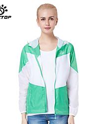 Outdoors Women's Windproof Sport Outerwear Jackets Coat Windbreak & Waterproof Hiking Jackets Nylon Sunscreen UV
