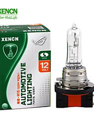 2pcs xencn H15 12v 15 / 55w 3200k série clara oem farol original é lâmpadas de halogéneo qualidade bulbo auto nevoeiro