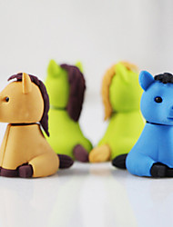 Little Horses Assemble Rubber Eraser (Random Color)
