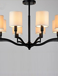 American Country Hanging  Lights Nordic Ikea  Contracted Warm Cloth Cap Lamps and Lanterns