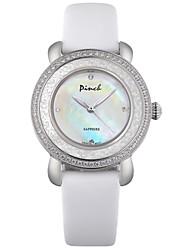 beliscar relógio de moda pulseira de couro casuais da série da mulher doce senhora