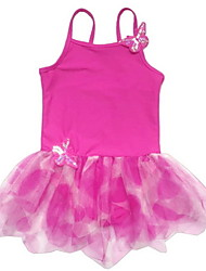 Vestidos ( Fucsia / Verde / Naranja / Rojo / Azul cielo , Spandex / Poliéster , Ballet ) - Ballet - para Niños