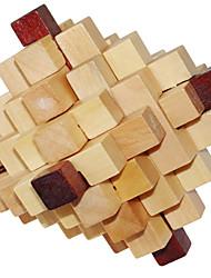 Rompicapo smontare rimontare ricostruire puzzle di giocattolo di legno