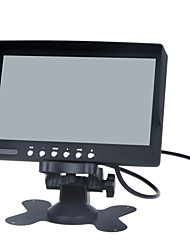7 inch LCD Color Monitor / Two Way Video Input, One Way Audio Input