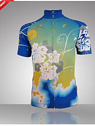 Getmoving® Cycling Jersey Women's Short Sleeve BikeBreathable / Anatomic Design / Water Bottle Pocket / Lightweight Materials / Back