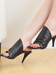 Women's ShoesStiletto Heel Peep Toe  Sandals / Slippers More Colors available