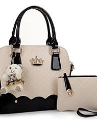MERX Fashion color shoulder hand bag with cross parent
