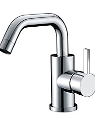 CRW HB11005-11 Modern Bathroom Products Chrome Finished Hot and Cold Water Basin Faucet