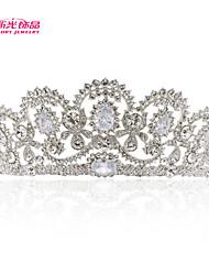 Neoglory Jewelry Bridal Tiara Crown with Clear Austrian Rhinestone Zirconia for Lady's Wedding Pageant