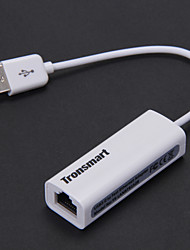 Tronsmart USB 2.0 to Ethernet Adapter for Mac - White