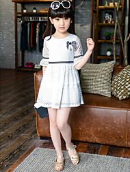 Vestido Chica de - Verano - Algodón - Media Manga