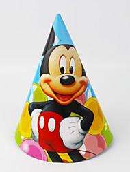 Mickey Mouse 12pcs cappello di carta