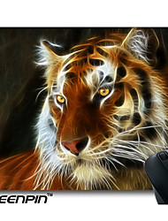 SEENPIN Personalized Mouse Pads 3D Art Design Lions Design