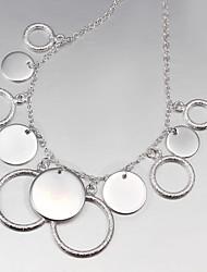 novo partido projeto / trabalho / prata banhado ocasional indicação elegante jóias
