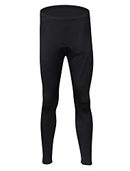 REALTOO Bike/Cycling Tights / Pants/Trousers/Overtrousers Women's / Men's / Unisex Thermal / Warm Elastane / Terylene / FleeceSolid /