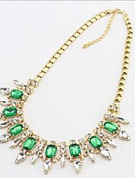 New Arrival Fashional Luxury Hot Sellign Gem Rhinestone Necklace