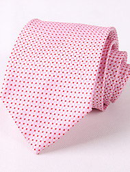Pink Idea Groom Tie