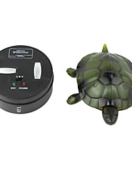 Remote Control Infrared Ray Simulation Brazil Turtle Toy Animal Model