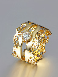 Party Gold Plated Statement Ring Trendy Rings Fashion Rings for Women 2015