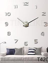 Horloge murale - Nouveauté - Moderne/Contemporain - en Acrylique/Métal