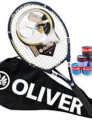 Las raquetas de tenis ( Azul , Aleación de aluminio y carbono ) - Impermeable/Buena aerodinámica/Alta elasticidad/Durabilidad