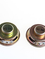 Quality Speakers 3W 4R Dedicated Amplifier Speaker Mini Trumpet(2Pcs)