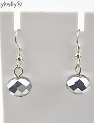 Women's Agate Drop Earrings With