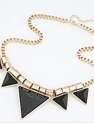 New Arrival Fashion Jewelry Geometric Triangle Necklace