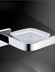 Modern Mirror Polished Stainless Steel Material Soap Dishes Bathroom Accessories