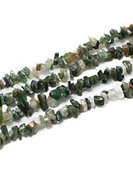 "Beadia Indian Agate Stone Beads 5-8mm Irregular Shape DIY Loose Beads For Making Necklace Bracelet 34""/Str"