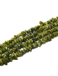 "Beadia Lemo Jade Stone Beads 5-8mm Irregular Shape DIY Loose Beads For Making Necklace Bracelet 34""/Str"