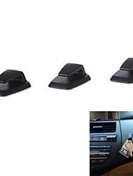 3pcs mini-abs voiture crochets de suspension pratique de l'auto-adhésif