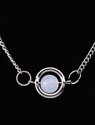 Women's Fashion Jewelry Twilight Vintage Casual Alloy Bella Moonlight Stone Pendant Necklace