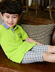 Boy's Summer/Spring/Fall Micro-elastic Medium Pants (Cotton/Denim)