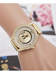 Women's Watches Quartz Watches Swiss Alloy Inner Frosted Diamond Steel Watch Cool Watches Unique Watches Fashion Watch