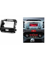 Car Radio Fascia for KIA Sportage III CD DVD Stereo Facia Install Trim Kit Panel Plate